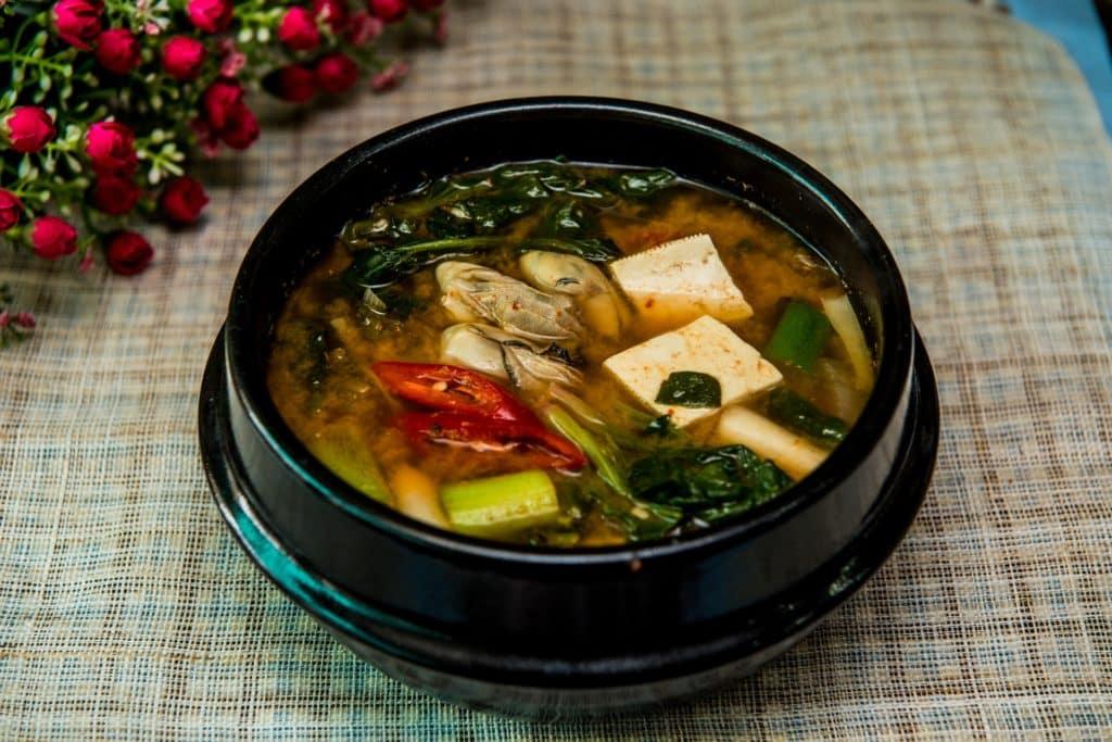 misosuppe aus miso paste