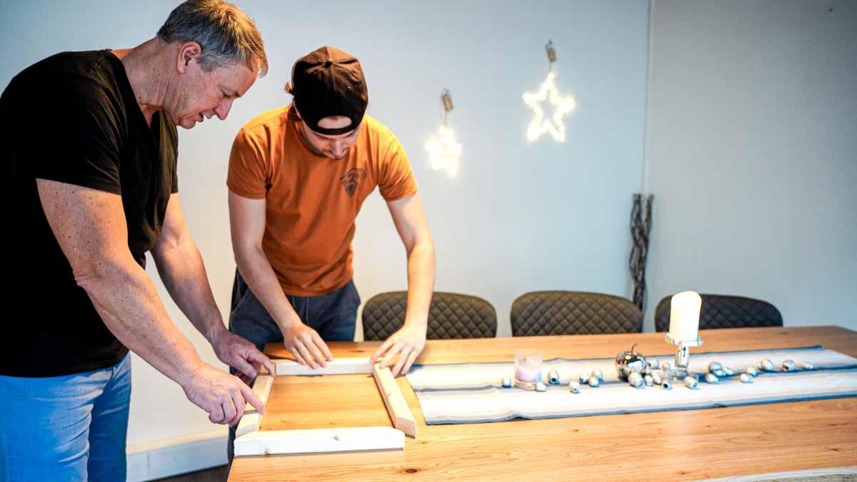 Rahmen für frankfurter Brett Alternative selber bauen